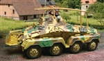 German Sd. Kfz. 232 Armored Car - Normandy, 1944
