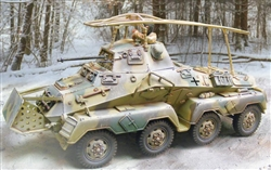 German Sd. Kfz. 232 Armored Car - Winter 1944