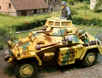 German Sd. Kfz. 222 Vehicle - Normandy, 1944