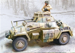 German Sd. Kfz. 222 Vehicle - WInter 1944