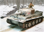 German Late Production Sd. Kfz. 181 PzKpfw VI Tiger I Heavy Tank - Michael Wittmann, S04, schwere SS Panzer Abteilung 101, Eastern Front, 1943-44