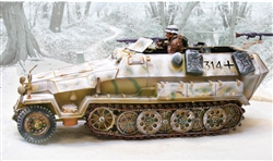 German Sd. Kfz. 251 Ausf. C Half-Track - Winter 1944