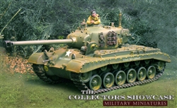 US M26 Pershing Heavy Tank - Summer Camouflage (1:30 Scale)