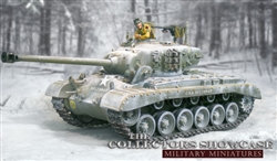 US M26 Pershing Heavy Tank - Winter Camouflage