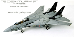 US Navy Grumman F-14A Tomcat Fleet Defense Fighter - VF-84 Jolly Rogers, USS Nimitz (CV-68), 1994 [Low-Vis Scheme]