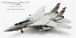 US Navy Grumman F-14A Tomcat Fleet Defense Fighter - VF-1 Wolfpack, USS Ranger (CV-61), 1991