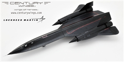 "USAF Lockheed SR-71A Blackbird Reconnaissance Aircraft - ""Libyan Raider"" 9th Strategic Reconnaissance Wing, Lybian Crisis, 1986 [Signature Edition]"