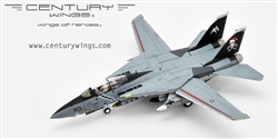 "US Navy Grumman F-14B Tomcat Fleet Defense Fighter - VF-103 Jolly Rogers, AA201 ""Santa Cat"", USS George Washington (CVN-73)"