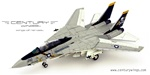 US Navy Grumman F-14A Tomcat Fleet Defense Fighter - AJ210, VF-84 Jolly Rogers, USS Nimitz (CV-68), 1978