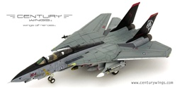 US Navy Grumman F-14D Super Tomcat Fleet Defense Fighter - AD164, VF-101 Grim Reapers, NAS Oceana, 2004