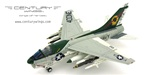 US Navy Vought A-7E Corsair II Attack Aircraft - NE400, VA-25 Fist Of The Fleet, USS Ranger (CV-61), 1975