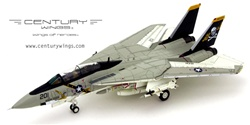 US Navy Grumman F-14A Tomcat Fleet Defense Fighter - AJ201, VF-84 Jolly Rogers, USS Nimitz (CV-68), 1978