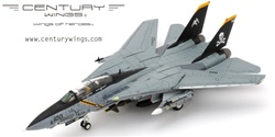 US Navy Grumman F-14B Tomcat Fleet Defense Fighter - AA100, VF-103 Jolly Rogers, USS John F. Kennedy (CVN-67), Final Cruise, 2004