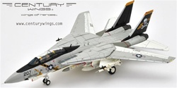 US Navy Grumman F-14A Tomcat Fleet Defense Fighter - AJ207, VF-84 Jolly Rogers, USS Nimitz (CV-68), 1978