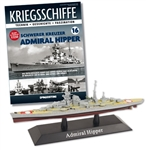 German Kriegsmarine Admiral Hipper Class Heavy Cruiser - DKM Admiral Hipper