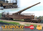 Limited Edition German 28cm K5(E) Leopold Railway Gun - Museum Version