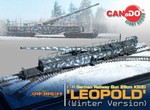 Limited Edition German 28cm K5(E) Leopold Railway Gun - Winter Version