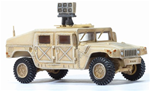 US HMMWV M1025 Humvee Armament Carrier with Roof-Mounted Long Range Acoustic Device - PsyOp Team