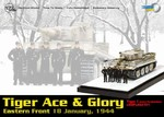 Limited Edition German Sd. Kfz. 181 PzKpfw VI Tiger I Ausf. H1 Heavy Tank - Tiger Ace & Glory, Michael Wittmann, S04, schwere SS Panzer Abteilung 101, Eastern Front, January 1944
