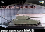 Limited Edition German PzKpfw VIII Maus Super Heavy Tank - Mouse in Kubinka
