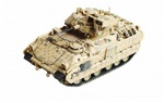 Operation Iraqi Freedom Assault Vehicle Collection - M2 Bradley Infantry Fighting Vehicle - 1-22 Infantry, 4th Infantry Division, Baghdad, 2004