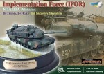 Limited Edition US M1A1HA Abrams Main Battle Tank - B Troop, 1-4 Cav, 1st Infantry Division,  Implementation Force (IFOR), Kosovo, 1996