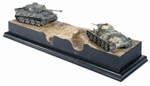 Fatal Encounter: German Tiger I vs Russian T-34/76 Mod. 1940 Tanks Head-to-Head Diorama