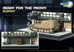 Special Edition Ready for the Front German Sd. Kfz. 184 Elefant Tank Destroyer Diorama
