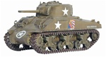 US M4 Sherman Medium Tank - Creighton Abrams, 37th Tank Battalion, 4th Armored Division, Brittany, France, 1944