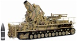 German Morser Karl Super Heavy Self-Propelled Mortar - 60cm Ziu [Combat Mode]