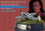 Limited Edition German Focke-Wulf Fw 190A-4 Fighter - Siegfried Schnell, Staffelkapitan of 9./Jagdgeschwader 2, Vannes, France, February 1943