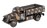 French Citroen Type 23 Light Truck - 49me Bataillon de Chars de Combat, Tannay, France, 1940