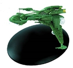 Star Trek 22nd Century Klingon B'Rel Class Bird-of-Prey Scout Starship [With Collector Magazine]