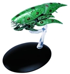 Star Trek Romulan Drone Ship [With Collector Magazine]