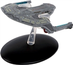 Star Trek Federation Saber Class Scout Starship - USS Yeager NCC-61947 [With Collector Magazine]