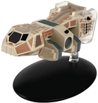 Star Trek Talaxian Freighter - Baxial [With Collector Magazine]