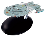 Star Trek Federation Intrepid Class Starship - Kyrian Warship USS Voyager NCC-74656 [With Collector Magazine]