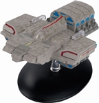 Star Trek Delta Flyer - Dala's Ship [With Collector Magazine]