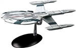 Star Trek Federation Cardenas Class Starship - USS Buran NCC-1412 [With Collector Magazine]