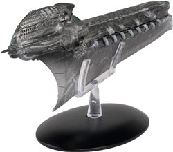 Star Trek Klingon Cleave Starship [With Collector Magazine]