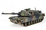Radio Controlled US M1A1 Abrams Main Battle Tank - Tri-Color Camouflage