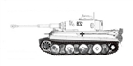 German Early Production Sd. Kfz. 181 PzKpfw VI Tiger I Ausf. E Heavy Tank