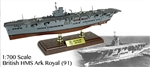Royal Navy Ark Royal Class Aircraft Carrier - HMS Ark Royal (91), Battle of the Atlantic, 1941