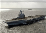 French Navy Charles de Gaulle Class Nuclear-Powered Aircraft Carrier - Charles de Gaulle (R91)