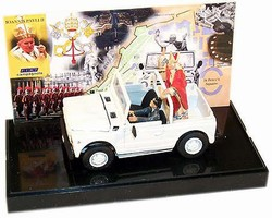 Fiat Campagnola with Pope John Paul II