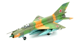 Russian Mikoyan-Gurevich MiG-21RF Fishbed-K Fighter - Soviet Air Force Frontal Aviation Unit