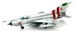 Soviet Mikoyan-Gurevich MiG-21SM Fishbed Fighter - Czech Invasion, 1968