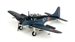 French Navy Douglas SBD-5 Dauntless Dive-Bomber - 167, Aircraft Carrier Arromanches (R 95), 1947