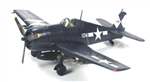 US Navy Grumman F6F-5N Hellcat Fighter - VF-83, USS Essex (CV-9), 1945