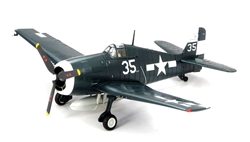 US Navy Grumman F6F-3 Hellcat Fighter - VF-17 Jolly Rogers, USS Hornet (CV-12), 1945